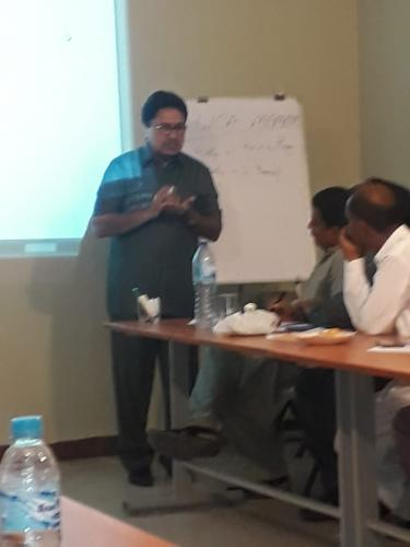 1st day training session on MIS Dashboard for HEIS & Watercourses organized by Directorate of SIAPEP(upper sindh)@SRSO complex, sukkur.