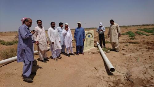 Additional Director General & HEIS Specialistt SIAPEP on field visit of HEIS