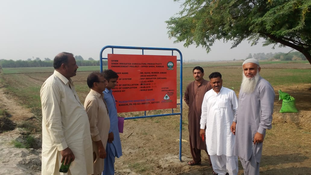 Commissioning of HEIS installed at Faisal Mubeen Farm under SIAPEP dist: Khairpur on 22/11/2018