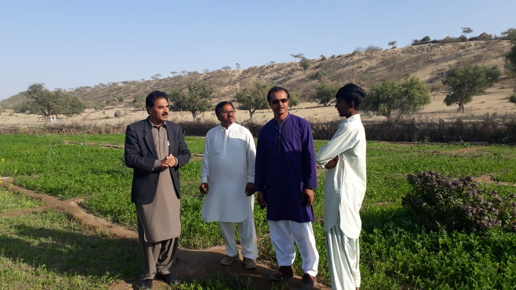 HEIS Specialist visited Tharparkar along with SAGP and SSC JBL representative on 24/12/2018