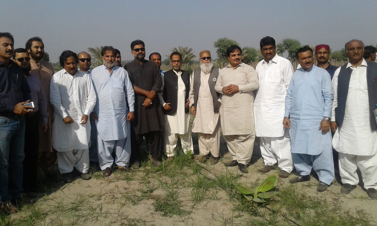 HEIS Awareness & Exposure visit for the Farmers at Zarar Shah Farm Matyari on 15/11/2018