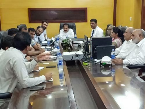 Meeting with CABI Consultants regarding NEFR , Presided by PD- SIAPEP at Hyderabad