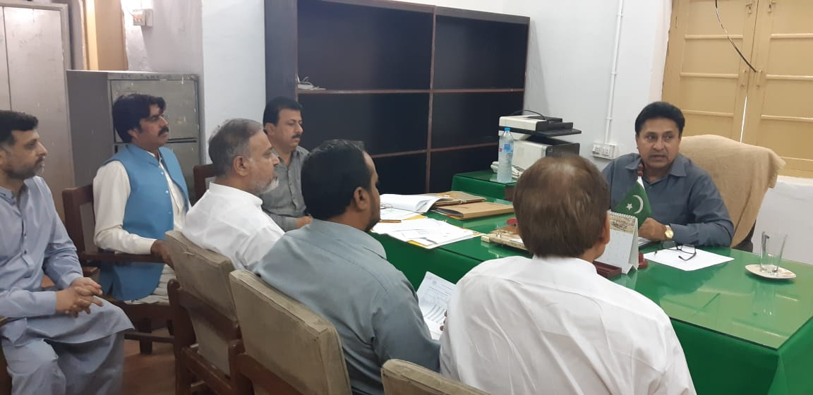 Meeting with Deputy Director, Ads, WMOs and Sub Engineer's dist: Sukkur on 14/11/2018