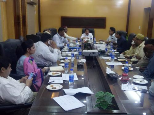 Meeting with PCPs factories representatives, Presided by PD- SIAPEP at SIAPEP office Hyderabad.