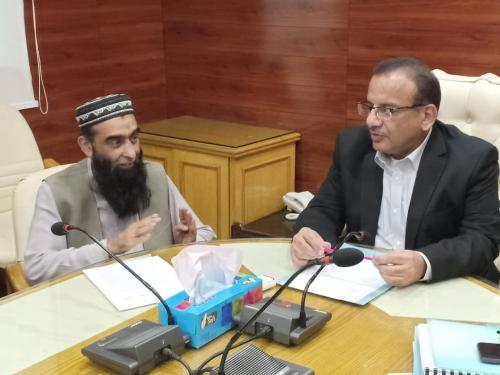 PD SIAPEP, PIU, PSIA & M&E Consultants meeting with Secretary Agriculture & officials at Karachi on 29.10.2019