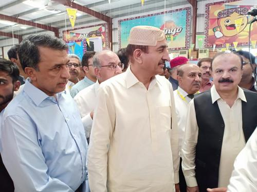 SIAPEP Stall at Mango Show Hyderabad, Show was inaugrated by Minister Agriculture, Supply & Prices Mr: M. Ismail Rahu at Expo Center Hyd: on 29.6.2019