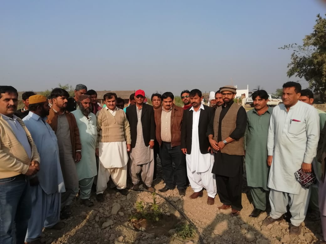 Siapep demo plots activity in Lower Sindh on 24/12/2018