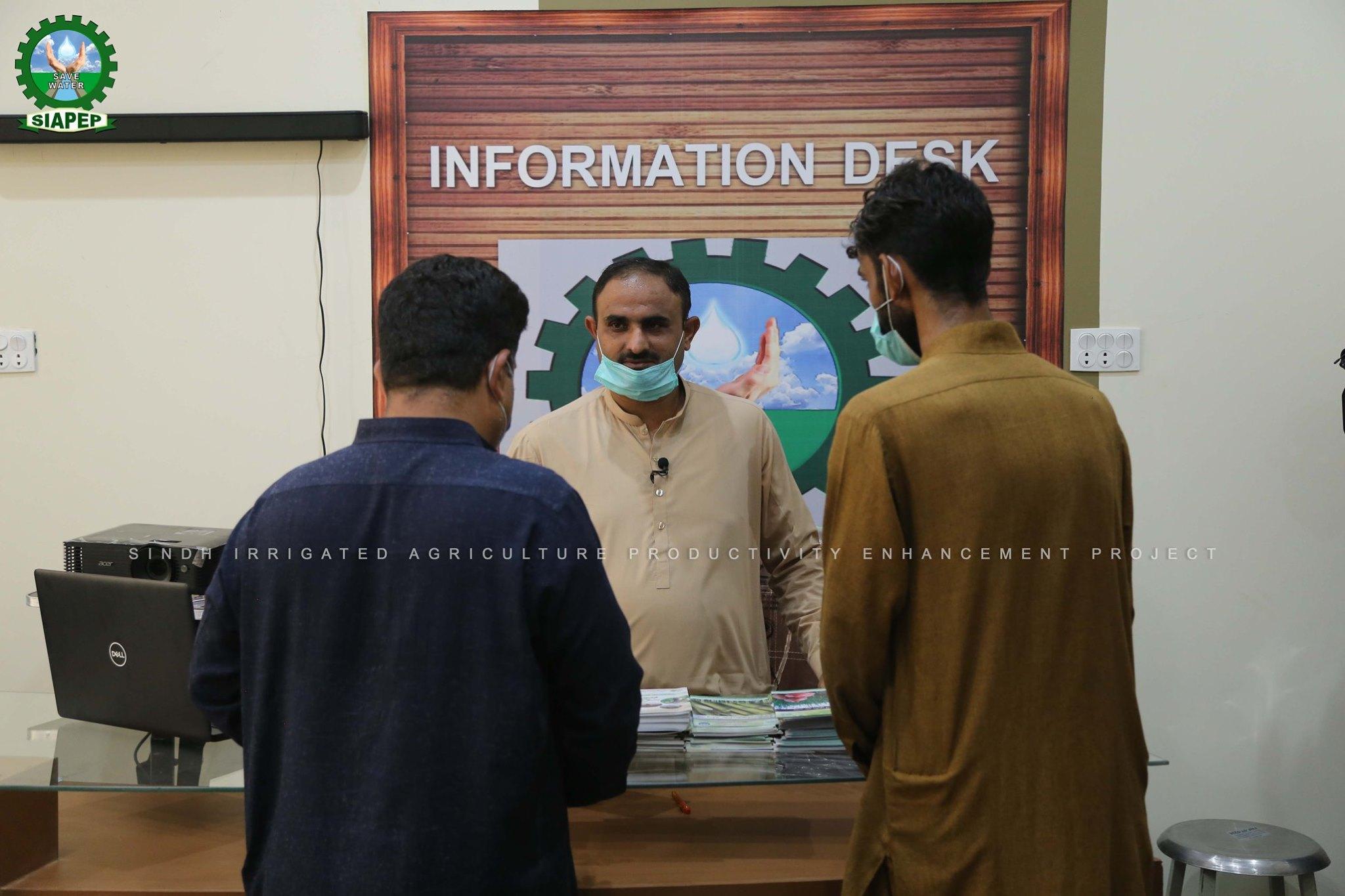 Siapep Activities in District Larkana.