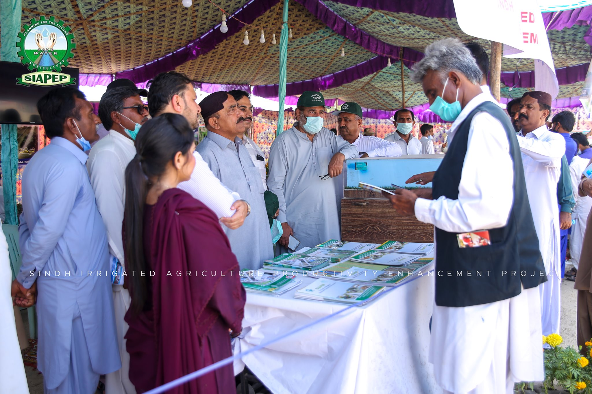 "SIAPEP Stall at "" Colors of Thar Festival""  