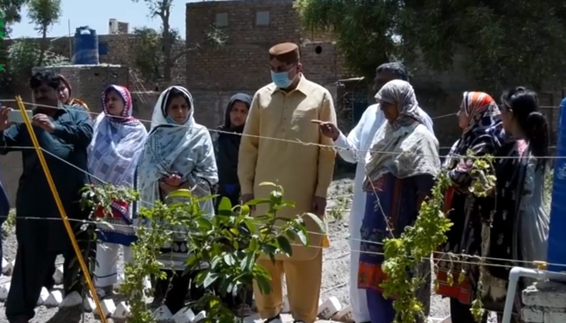 Minister of Agriculture Govt Sindh Mr. Muhammad Ismail Rahoo Visits SIAPEP Interventions at District Hyderabad and Tando Allahyar with Secretary Agriculture, DGS and SIAPEP Officials