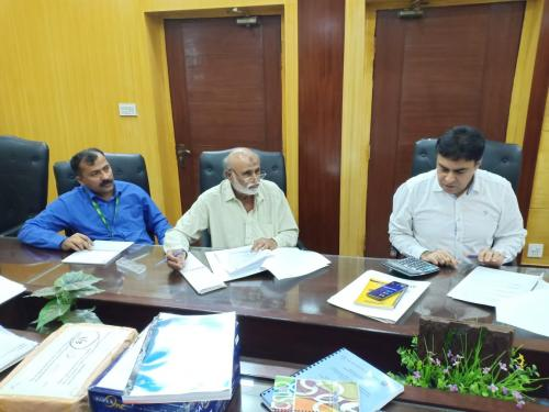 Bid opening of NCB regarding construction of  Sheds for NEFR on 20.5.2019 at SIAPEP office Hyerabad