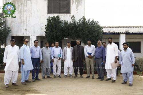 HEIS sites visit with World Bank mission at District Karachi& Jamshoro on 18-Feb-2020