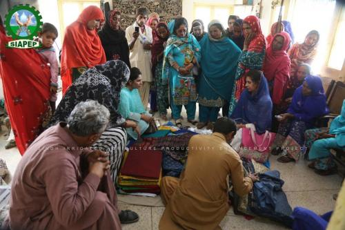 SIAPEP FFS Women's Activity in Bhit Shah on 27-Feb-2020