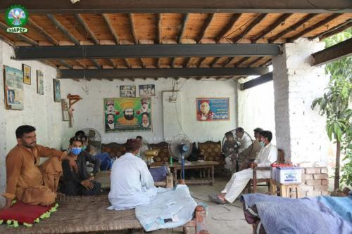 SIAPEP activities in District Larkana